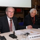 Bologna, 22/04/2017. FESTIVAL DELLA SCIENZA MEDICA 2017. STABAT MATER. Made in Germany: Large Scale Facilities: …. chairperson: Horst Klinkmann. Massimo Inguscio, Thomas Hirth, Jörg Vienken. co-chairperson: Claudio Franceschi. Foto Paolo Righi/Meridiana Immagini