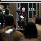 Bologna, 23/04/2017. FESTIVAL DELLA SCIENZA MEDICA 2017. Palazzo Pepoli. SALA DELLA CULTURA. Perché abbiamo perduto la battaglia contro l'Alzheimer. Arnaldo Benini. Foto Paolo Righi/Meridiana Immagini