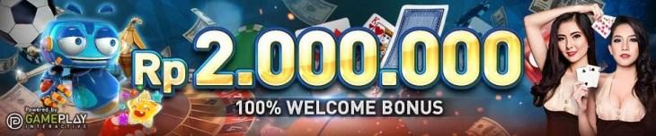 Welcome Bonus Rp 2.000.000