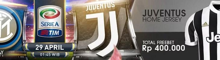 Inter vs Juve Serie A 29/04/018