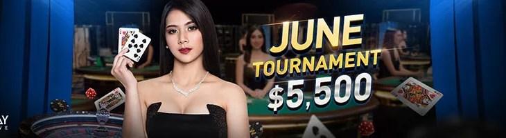 June Live Casino Tournament