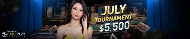 July Casino Tournament