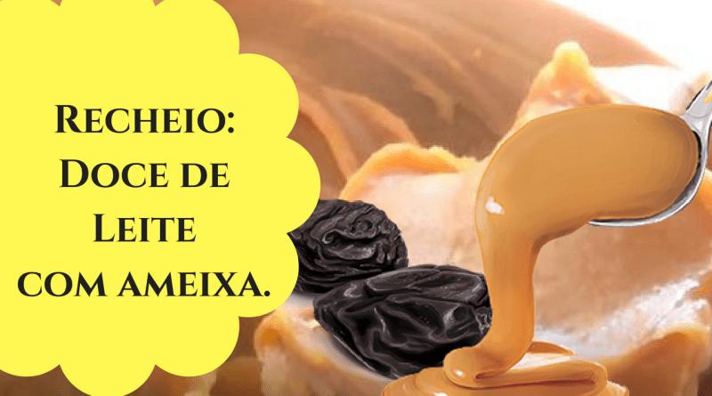 Como fazer recheio doce de leite com ameixa