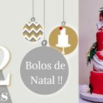 12 Ideias de bolos de Natal