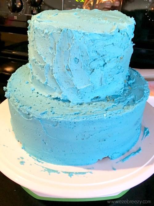 Moana Birthday Cake Icing 1 - Como fazer um bolo Moana