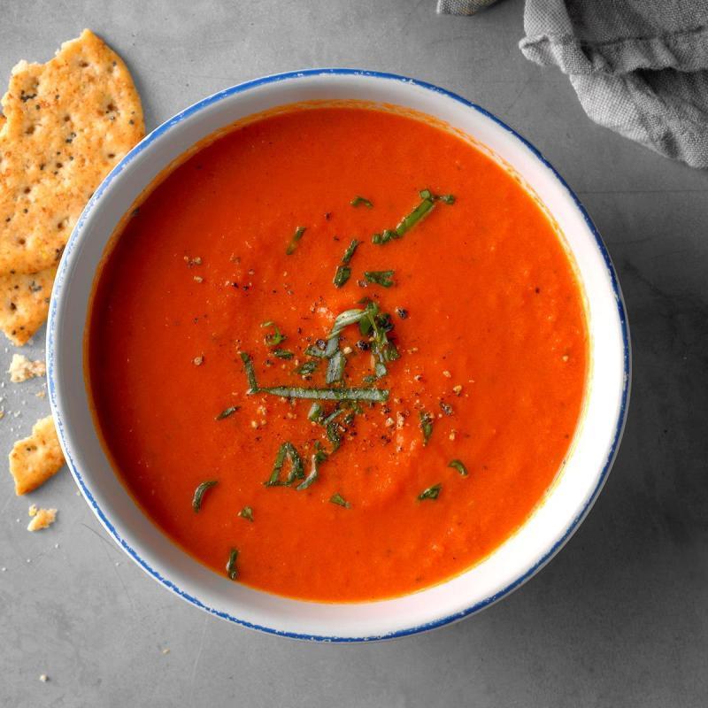 The Best Ever Tomato Soup EXPS THSO18 222724 D03 06 5b - 18 maneiras de cozinhar tudo mais rápido