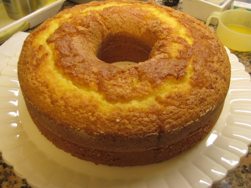 bolo de laranaja - 10 Bolos da Vovó Com Sabor de Infância