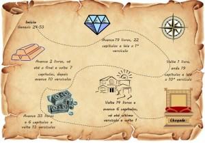Biblia Mapa Tesouso