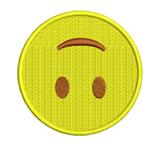 emoji de cabeça para baixo