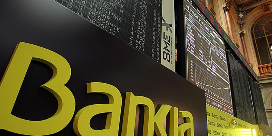 Bankia pretende volver al Ibex a final de año