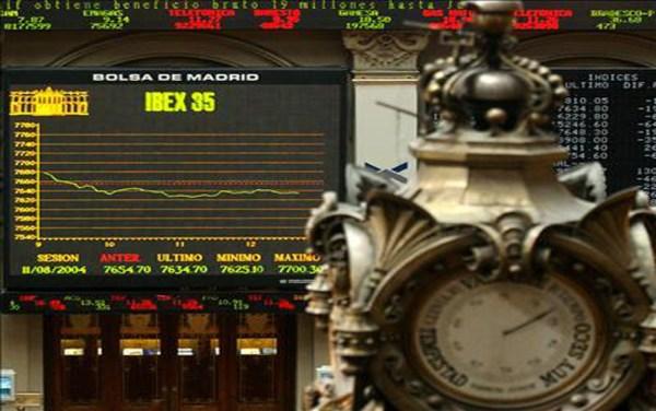 La Bolsa de Madrid clausura la jornada en rojo (-0,65%)