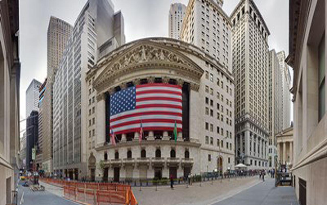 Cierre mixto para la Bolsa de Nueva York