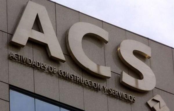 ACS gana 195 millones de euros entre enero y marzo