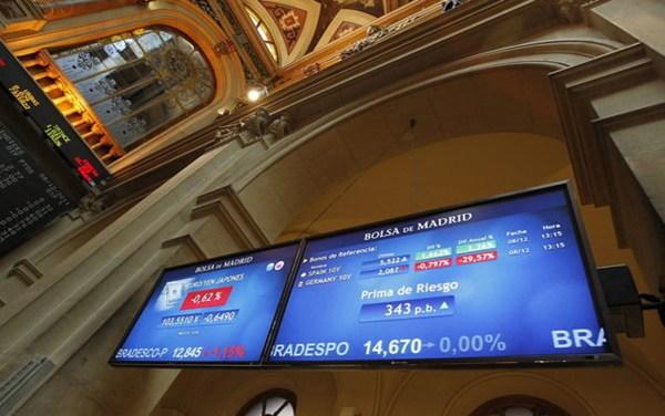 La Bolsa de Madrid empieza la jornada con un recorte del 0,14%