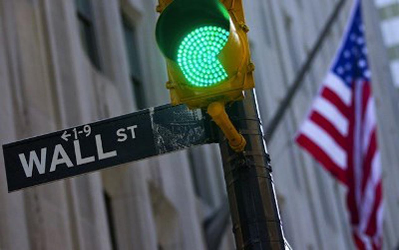 Cierre apoteu00f3sico del miu00e9rcoles en la Bolsa de Nueva York