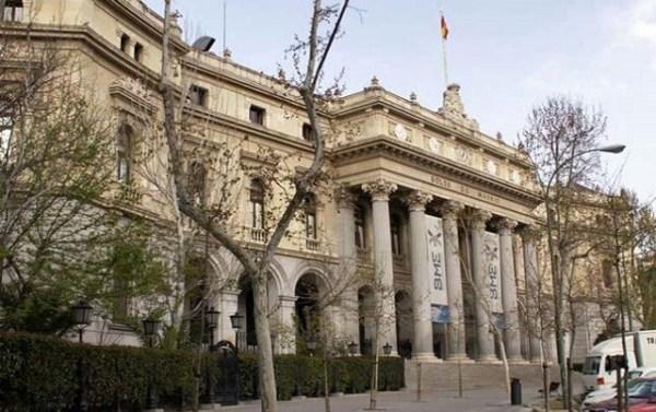 Inicio negativo del viernes en la Bolsa de Madrid (-0,55%)