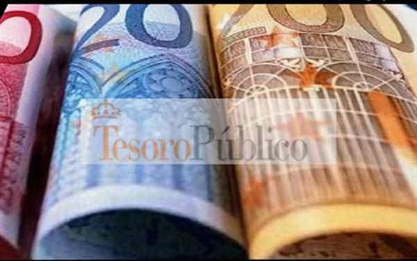 El Tesoro Público capta 3.143,14 millones