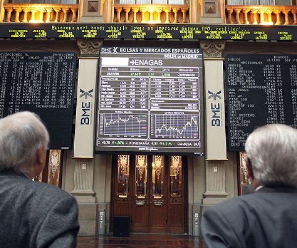 Descenso del 0,16% al término de jornada en la Bolsa de Madrid