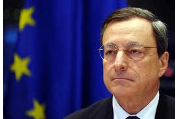 Draghi: no puede haber plan de seguros sobre depósitos si no se abordan créditos incobrables