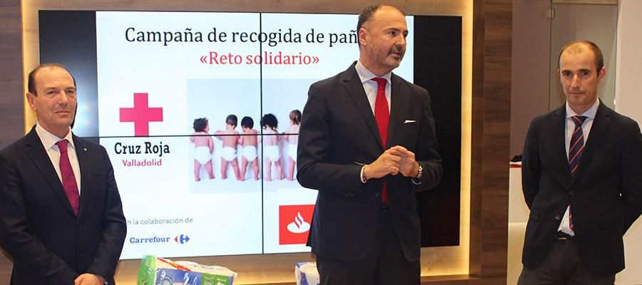 Banco Santander y la Cruz Roja se unen para promover proyectos solidarios en Valladolid