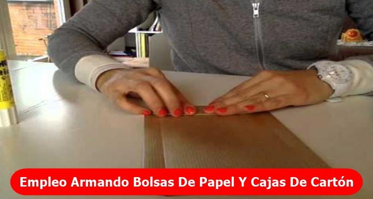 Empleo Armando Bolsas De Papel