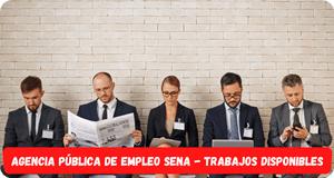 Sena agencia publica de empleos