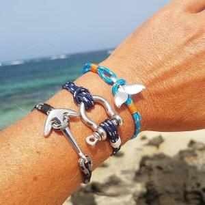 Les bracelet corde nautique