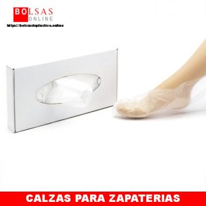Calzas desechables.