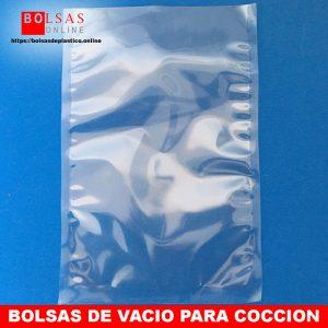 bolsas de vacío para cocción