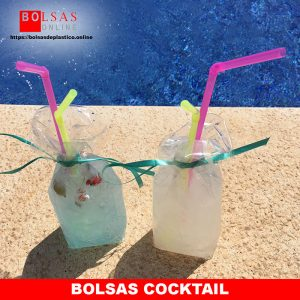 ? Bolsas cocktail.