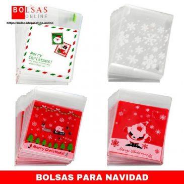 5623fdd08 400 Piezas de Bolsa de Dulce de Navidad Bolsa de Celofán Bolsa Autoadhesiva  Bolsa de Galletas