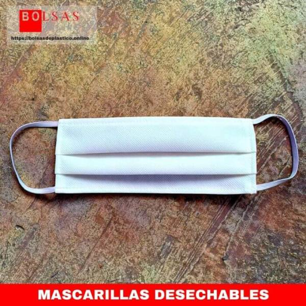 Mascarillas desechables