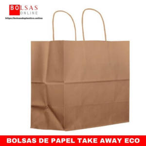 BOLSAS DE PAPEL TAKE AWAY ECO