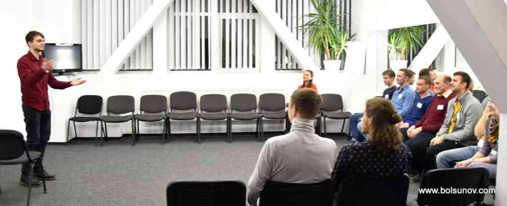 Обучение в группах публичным выступлениям