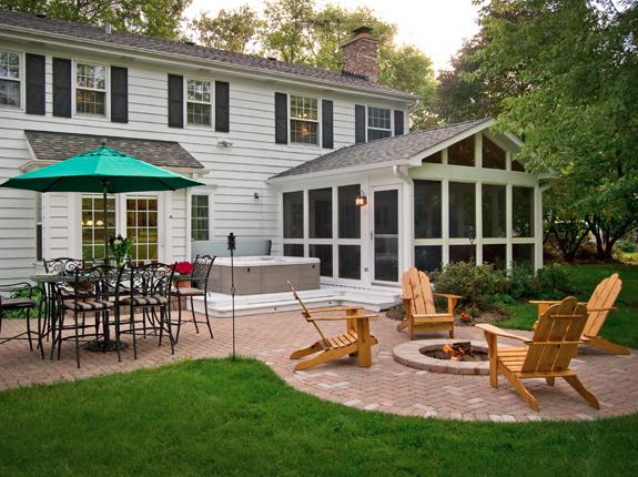 Backyard Screened Porch Ideas