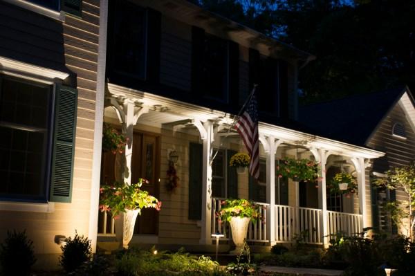 Cleveland Area Landscape Lighting Design
