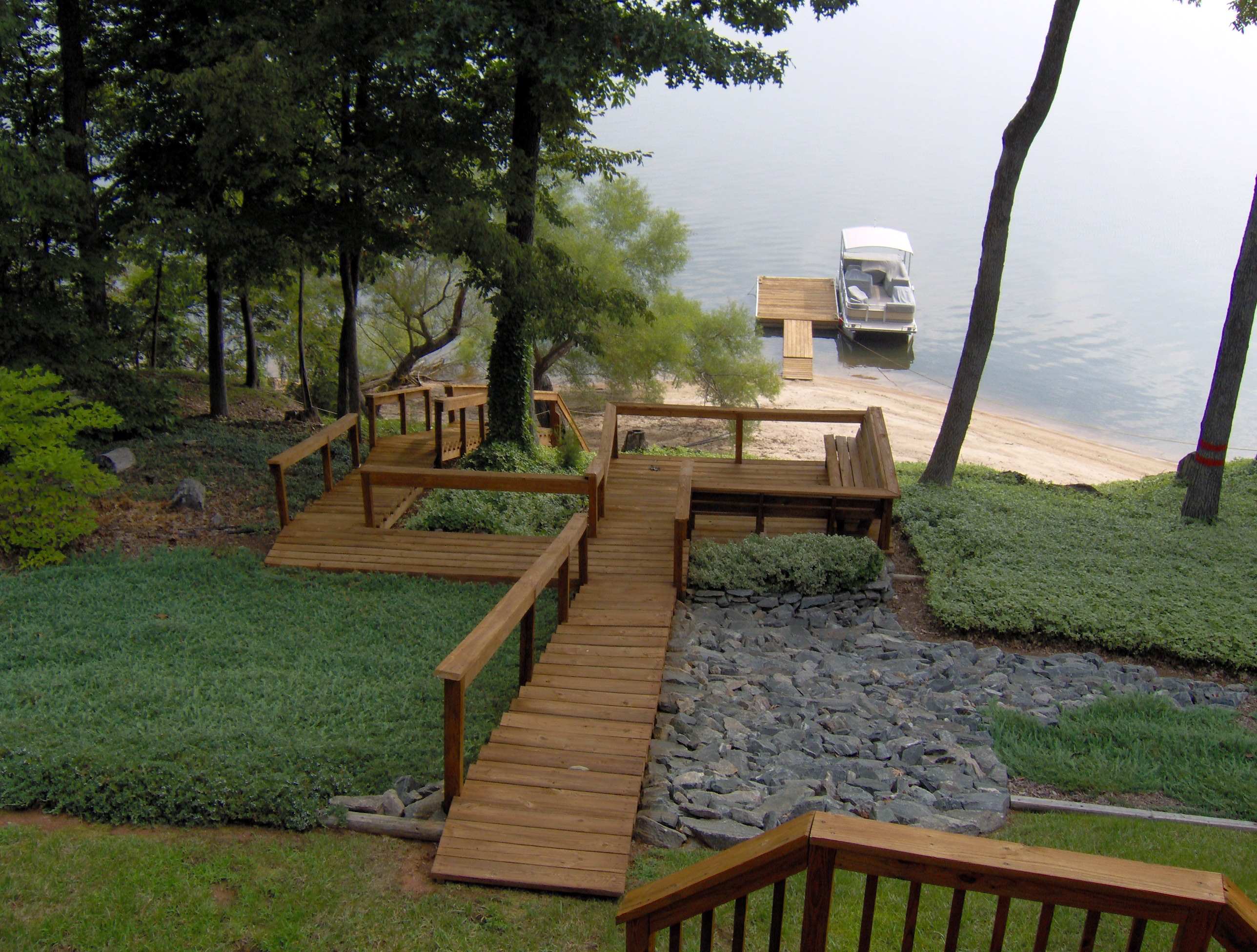 Decks Amp Docks Renew Crew Of Lake Gaston Kerr Lake And