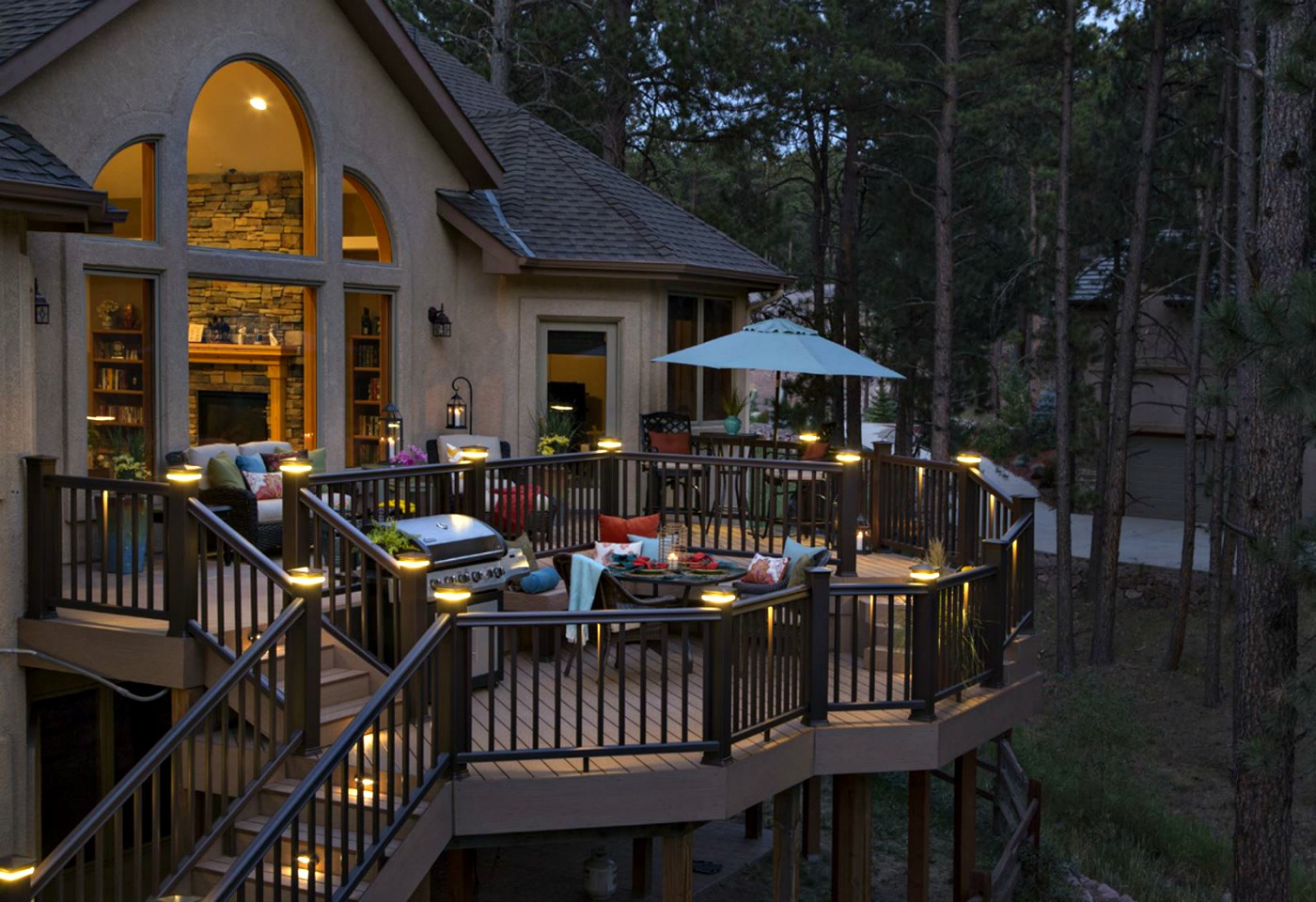 The Top 4 Most Beautiful And Useful Deck Lighting Types To Consider Archadeck Outdoor Living