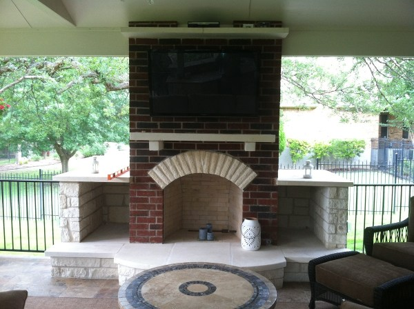 Houston Outdoor Fire Features Builder