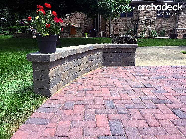 paver patio ideas and expaning paver
