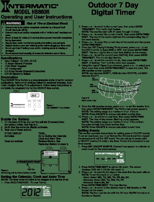 water geyser wiring diagram 5 7 vortec harness intermatic digital timer diagrams livewell ~ elsalvadorla