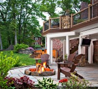 Stone patios and Paver patios Archadeck GTA Ontario