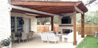Archadeck porch and pergola featured in Round Rock,TX ...