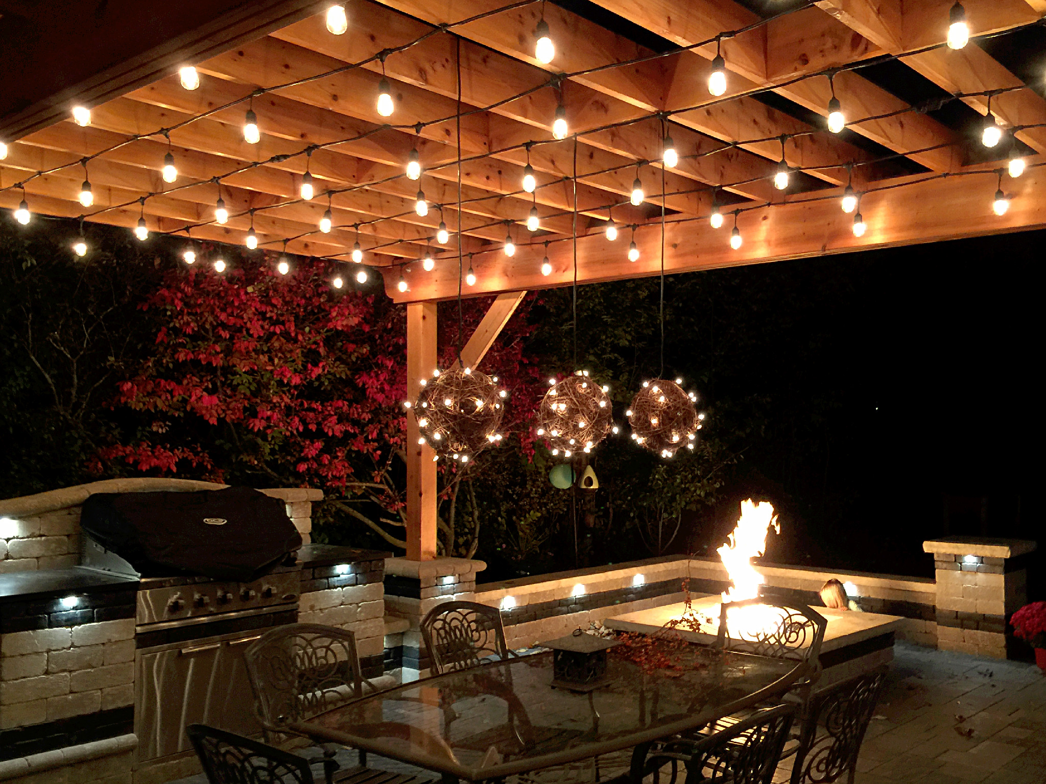 Outdoor Kitchen Led Lighting