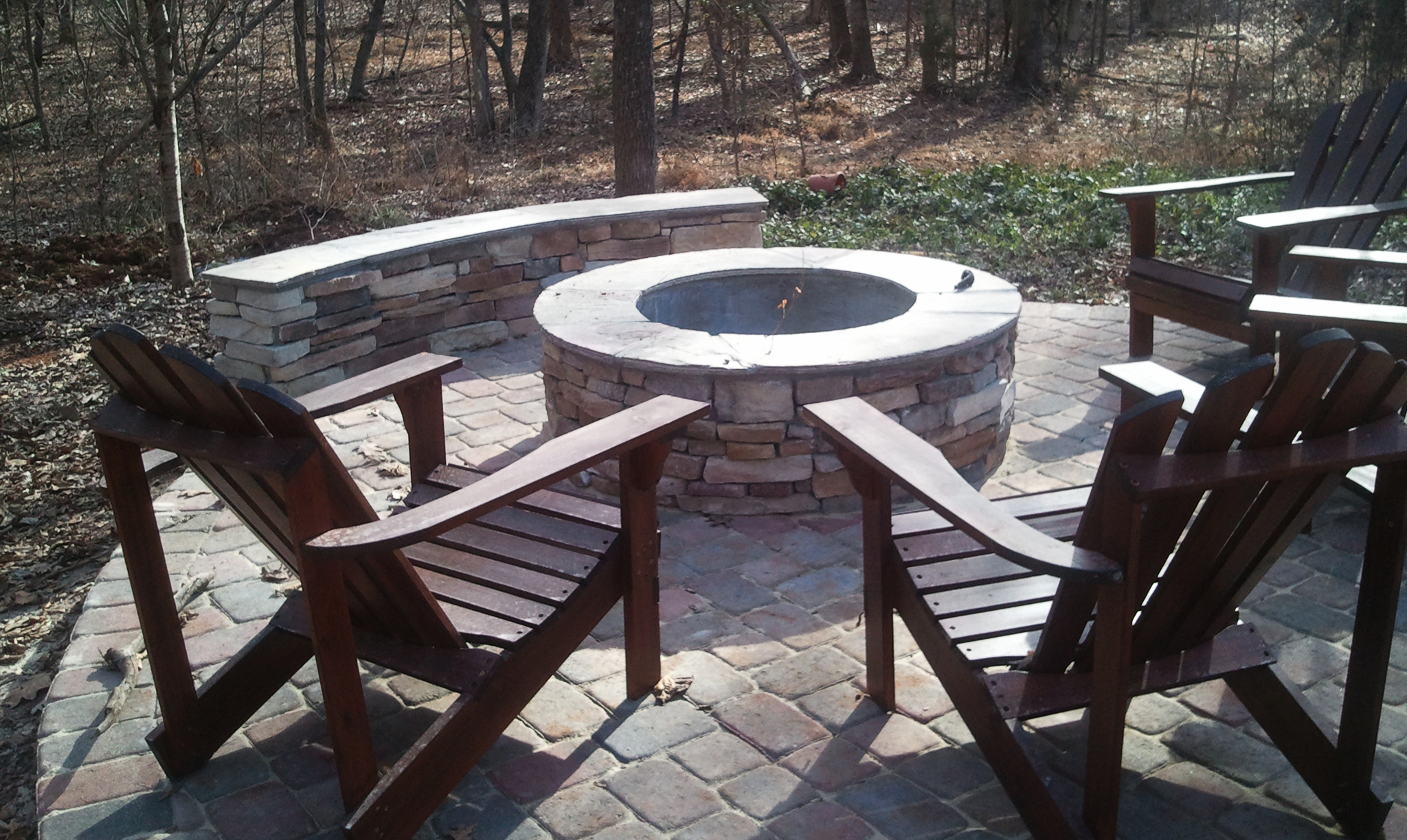 Chairs Around Fire Pit Charlotte Outdoor Fire Pits Charlotte Outdoor Fireplace