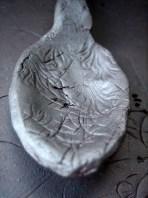 Elaine Bolt teaspoon - terracotta