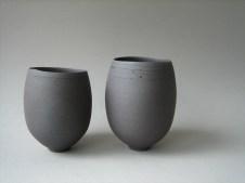 Elaine Bolt Dark Terracotta teabowls