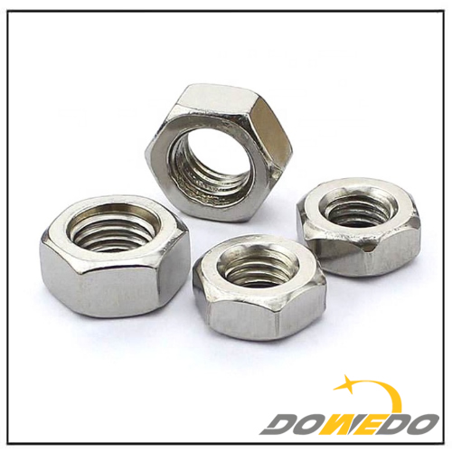 Carbon Steel Hex Jam Nuts