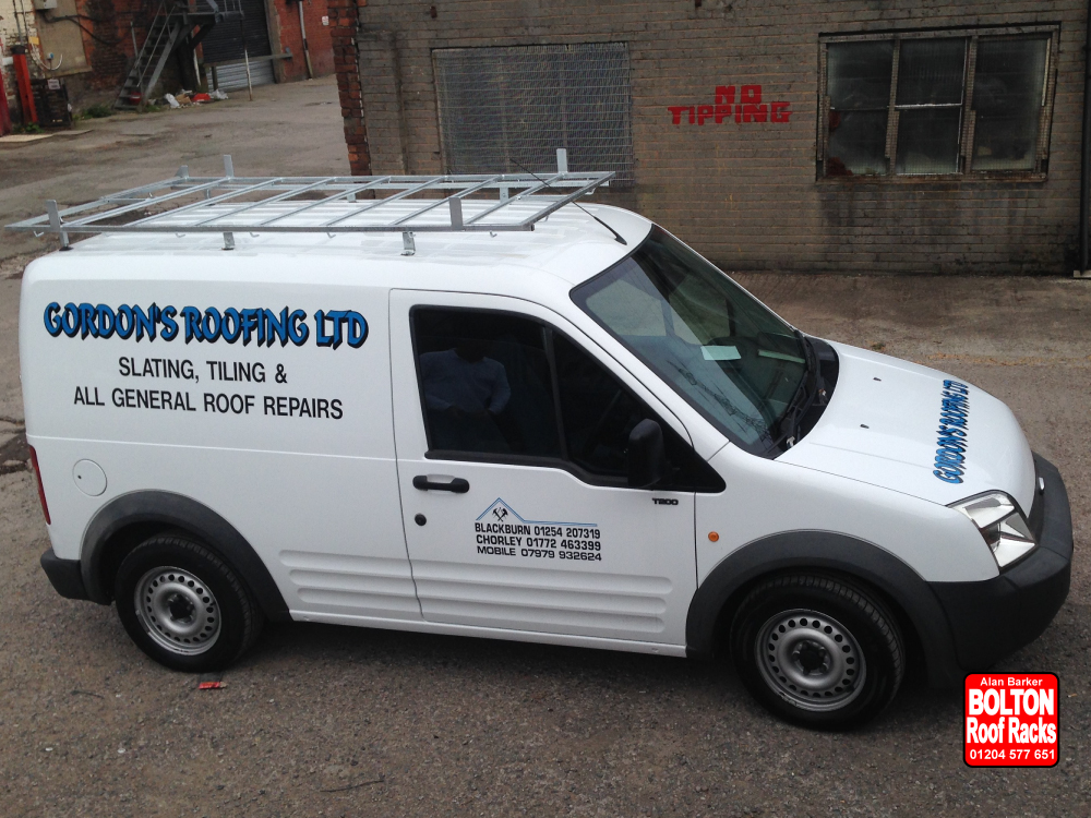 Ford Connect Short Wheelbase Roof Racks from Bolton Roof