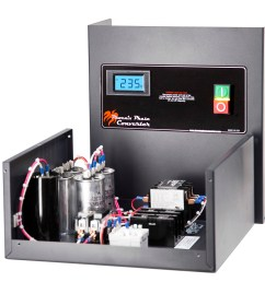 10 hp rotary phase converter cnc rated precision balanced voltage tefc gp10plv  [ 5003 x 3336 Pixel ]